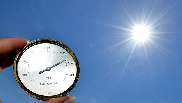 Bis 2100 wird es in Kärnten um vier Grad wärmer (Bild: APA/Barbara Gindl)