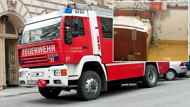 Brand in Pflegeheim gelegt: Bewohnerin verletzt (Bild: Andreas Graf, Feuerwehr Neulengbach-Stadt)