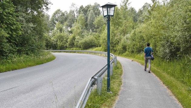 Der angebliche Tatort in Anif bei Salzburg (Bild: MARKUS TSCHEPP)