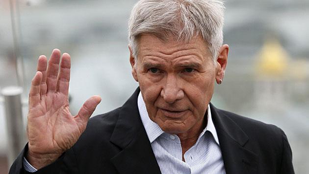 Harrison Ford brach sich bei Unfall am Set Bein (Bild: EPA)
