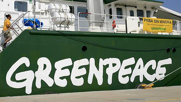 Greenpeace-Aktivistinnen aus Österreich auf hoher See verhaftet