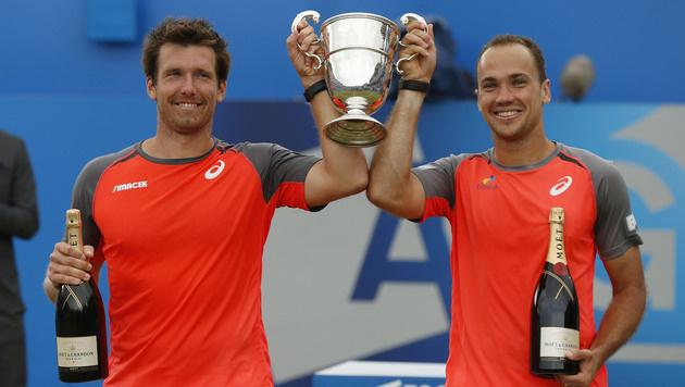 Peya/Soares greifen zum 2. Mal bei ATP-Finals an (Bild: AP)