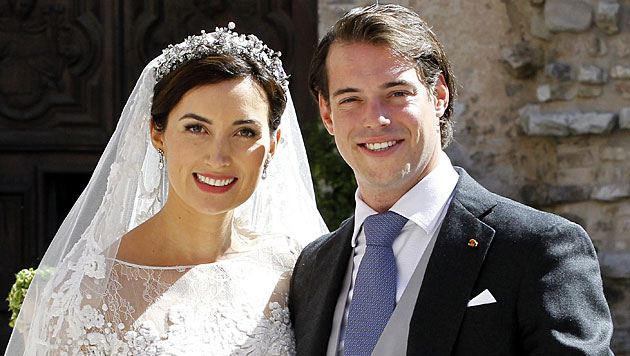 Baby für Prinz Felix und Claire von Luxemburg (Bild: APA/EPA/SEBASTIEN NOGIER)