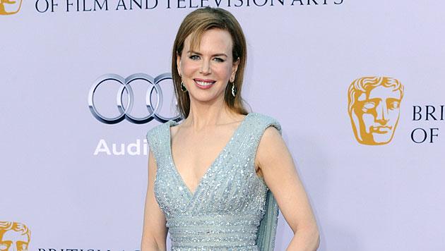 Da war noch deutlich weniger im Körbchen von Nicole Kidman. (Bild: PAUL BUCK/EPA/picturedesk.com)