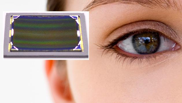 Sony entwickelt gekrümmte Bildsensoren (Bild: thinkstockphotos.de, Sony, krone.at-Grafik)