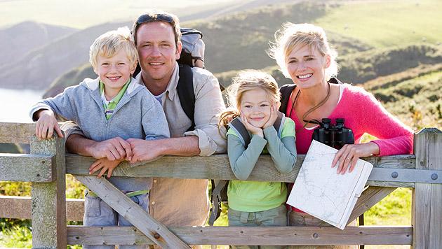 Österreicher wollen harmonisches Familienleben (Bild: thinkstockphotos.de)