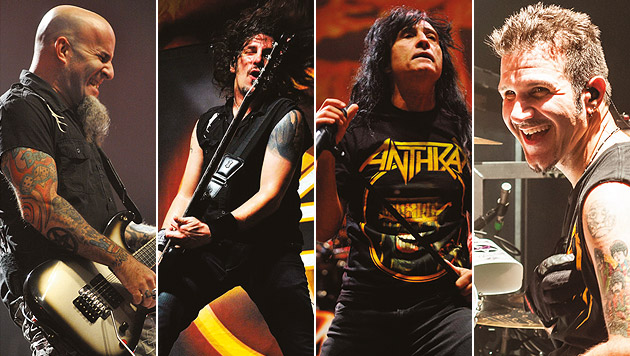 """Anthrax: """"Ich hasse die Welt mehr als je zuvor"""" (Bild: Nuclear Blast)"""