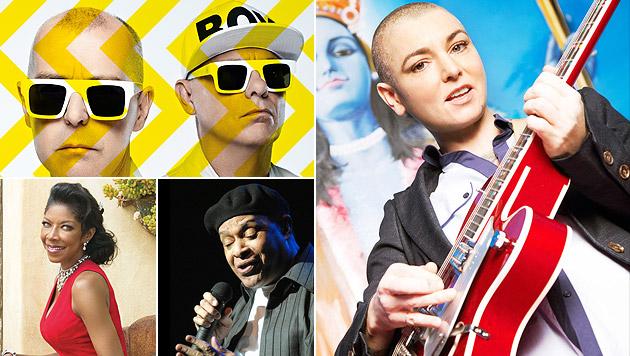 Jazzfest Wien 2014: Treffen der Topstars (Bild: Jazz Fest Wien, Barry Mccall, Jack Guy, Wolfgang Gonaus)