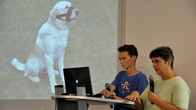 Winny Boerman und Sheila Harper sprachen über fairen Umgang mit Hunden. (Bild: PetExpo)