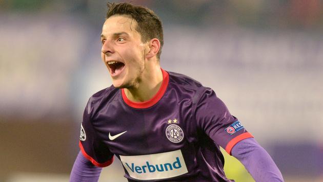 Philipp Hosiner will bei Union Berlin durchstarten (Bild: APA/ROLAND SCHLAGER)