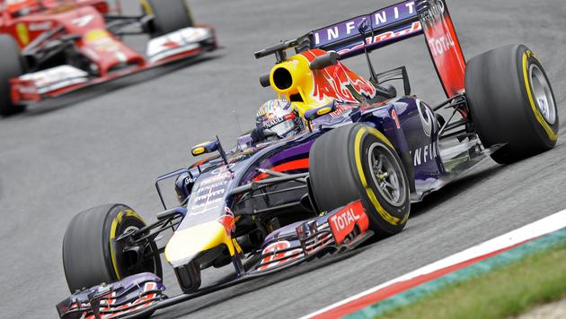 Sebastian Vettel (Bild: APA/HERBERT NEUBAUER)