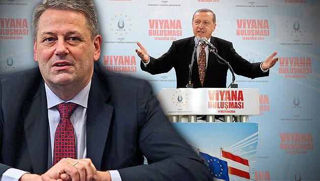 """Minister: """"EU-Gespräche mit Türkei auf Eis legen"""" (Bild: APA/HANS PUNZ, Christof Birbaumer, krone.at-Grafik)"""