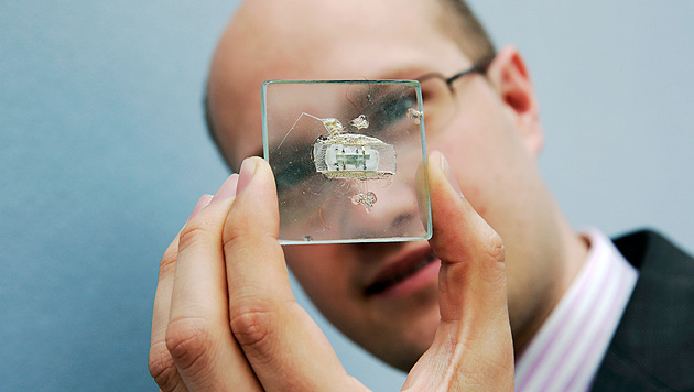 US-Auktion: Mikrochip-Prototyp fand keinen Käufer (Bild: AP)
