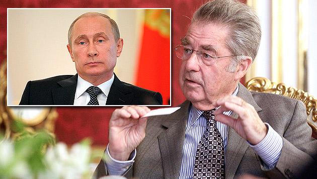 """Fischer will bei Putin-Besuch """"Türen offen halten"""" (Bild: APA/GEORG HOCHMUTH, AP)"""
