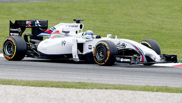 Brasiliens Williams-Pilot Felipe Massa (Bild: AP)