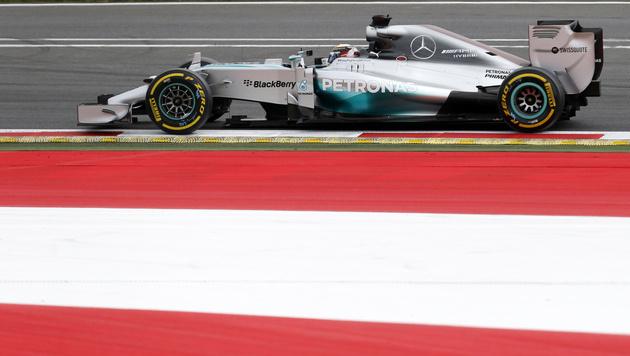 Mercedes-Pilot Lewis Hamilton (Bild: AP)