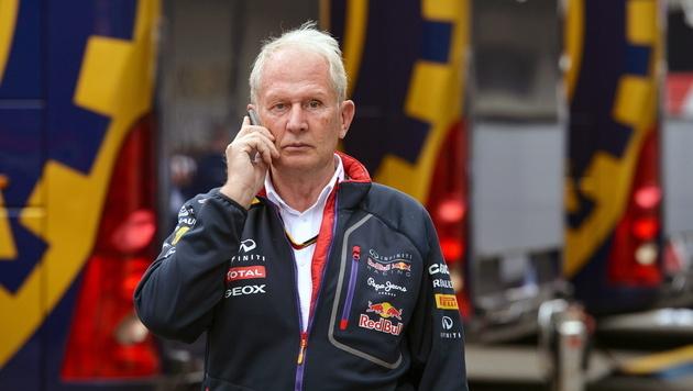 Red-Bull-Berater Helmut Marko (Bild: EPA)