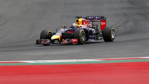 Weltmeister Sebastian Vettel im Red Bull (Bild: AP)