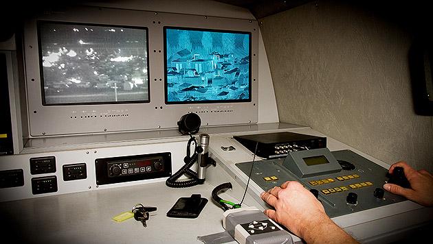 Wärmebildkamera überführt Zelteinbrecher (Bild: APA/POLIZEI)