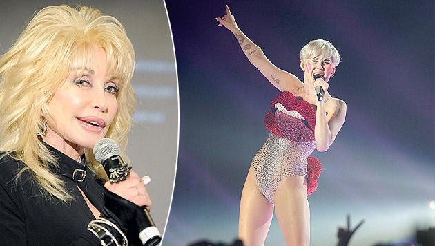 "Patentante Parton: ""Miley wird so missverstanden"" (Bild: APA/EPA/JOE CASTRO, APA/GEORG HOCHMUTH)"