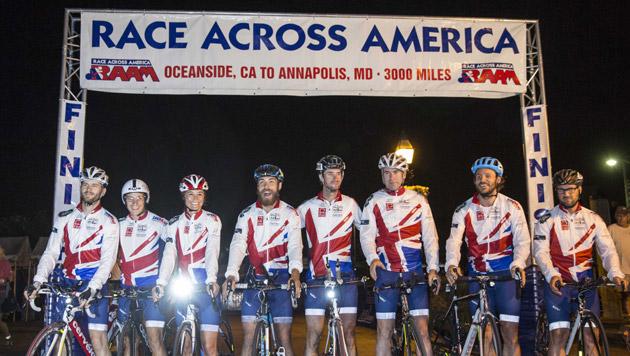 Pippa Middleton radelte 4.800 km durch die USA (Bild: APA/EPA/DREW ANGERER)