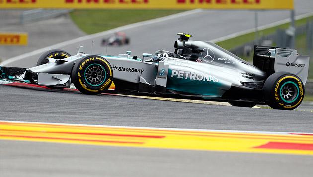 Rosberg gewinnt Österreich-Grand-Prix vor Hamilton (Bild: AP)