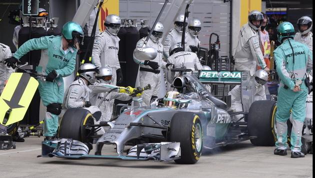 Mercedes-Pilot Lewis Hamilton (Bild: EPA)