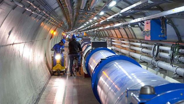 Der Large Hadron Collider (LHC) am Kernforschungszentrum CERN (Bild: CERN)