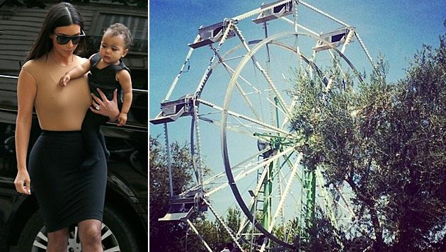 Kim & Kanye: Protz-Party zu Norths 1. Geburtstag (Bild: instagram.com/kimkardashian)