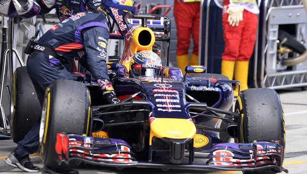 "Sebastian Vettels ""Suzie"" macht Zicken (Bild: APA/Hans Klaus Techt)"