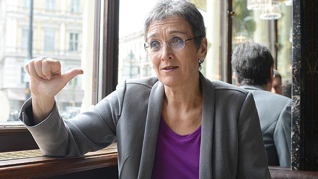 Euro-Grüne: Lunacek soll Parlamentschefin werden (Bild: APA/Helmut Fohringer)