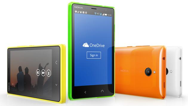 """Microsoft stellt Billig-Androiden """"Nokia X2"""" vor (Bild: Microsoft)"""