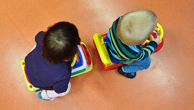 Ministerrat beschloss Ausbau der Kinderbetreuung (Bild: APA/Herbert Neubauer)