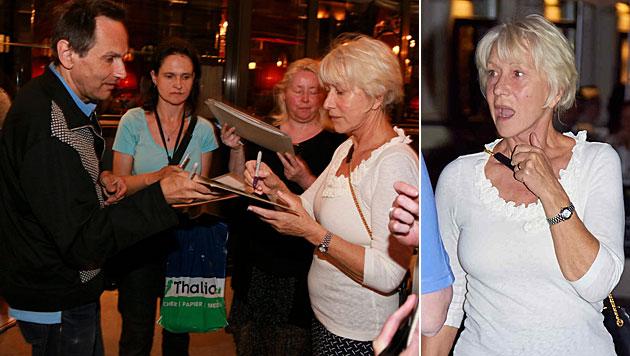 Oscar-Star Helen Mirren als Wien-Touristin (Bild: Starpix/Alexander Tuma/SPY)