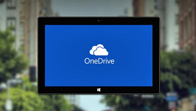 So sichern Sie Ihre Daten in Microsoft OneDrive (Bild: onedrive.live.com)