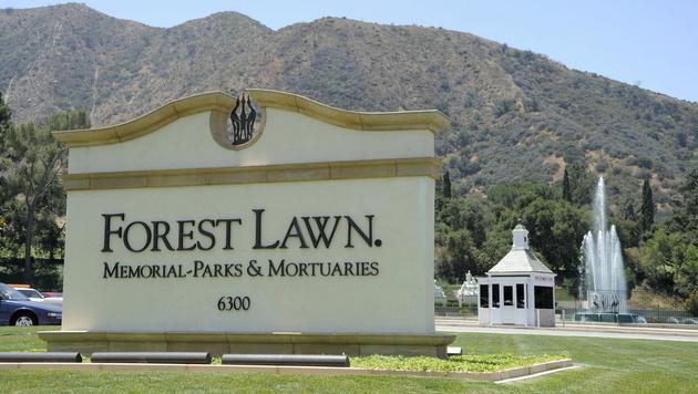 Der Friedhof Forest Lawn, auf dem Michael Jackson beerdigt wurde. (Bild: PAUL BUCK/EPA/picturedesk.com)