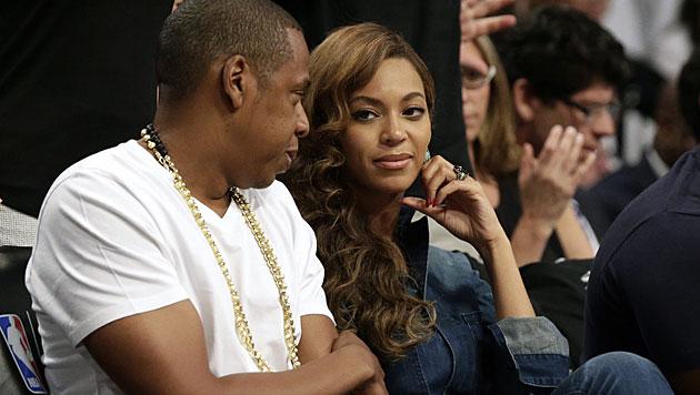 Gerüchte um Ehekrise bei Beyonce und Jay-Z (Bild: APA/EPA/JASON SZENES)