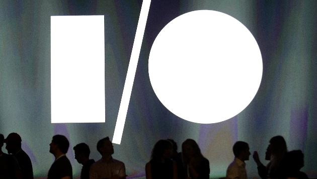 Neuheiten und Proteste bei Googles I/O-Konferenz (Bild: AP)