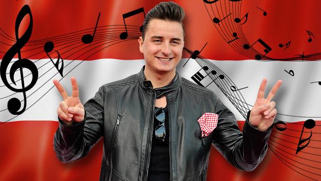 Bundeshymne: Gabalier regt Volksbefragung an (Bild: APA/HANS PUNZ, thinkstockphotos.de, krone.at-Grafik)
