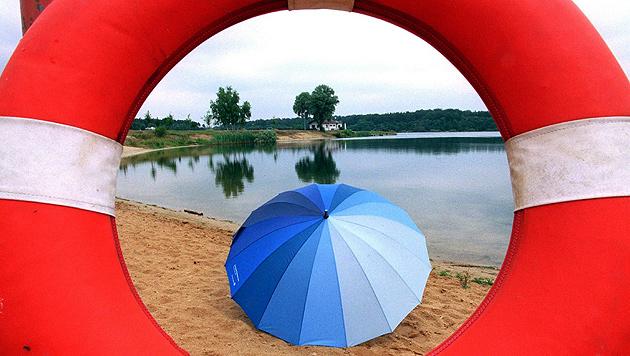 Der Sommer kommt nicht so recht in Schwung (Bild: dpa/Arne Dedert/hw)