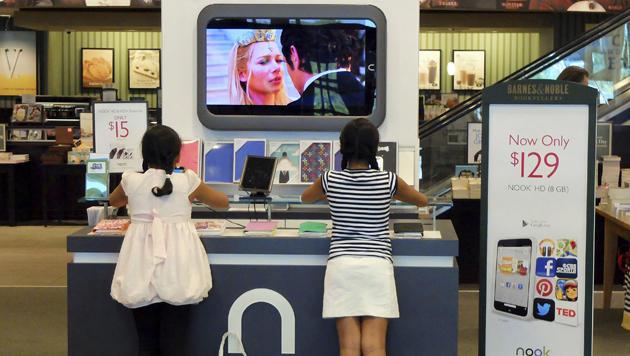 E-Book-Reader: US-Marke Nook soll verkauft werden (Bild: AP)