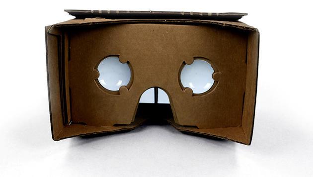 Google arbeitet an Cyberbrille aus Pappe (Bild: gweb-cardboard.appspot.com)