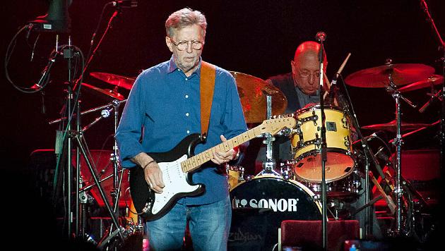Legende Eric Clapton ließ die Gitarre heulen (Bild: Andreas Graf)