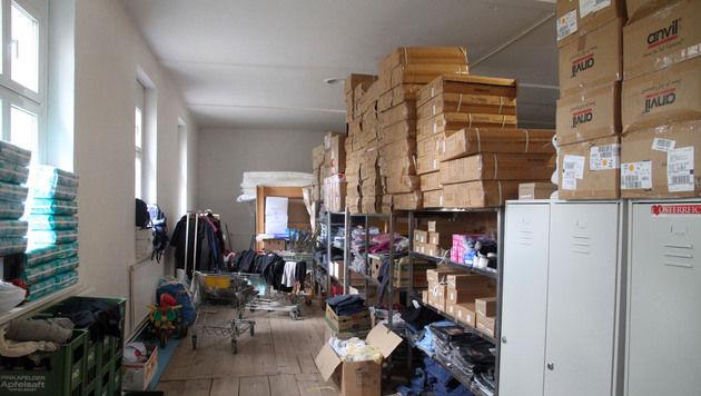 Lokalaugenschein im Flüchtlingslager Traiskirchen (Bild: ANDI SCHIEL)