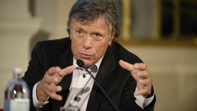 Schröcksnadel als ÖSV-Präsident wiedergewählt (Bild: APA/HERBERT NEUBAUER)