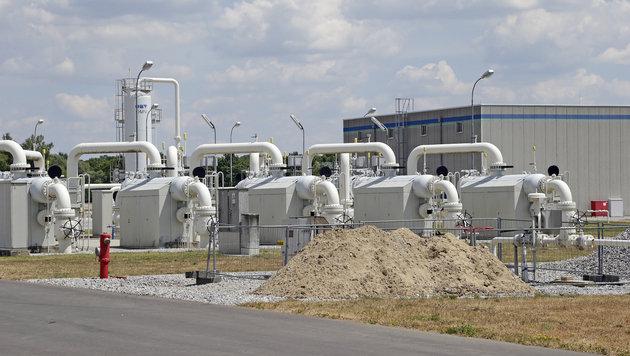 Baumgarten: Ein Dorf als Gaszentrale Europas (Bild: Klemens Groh)