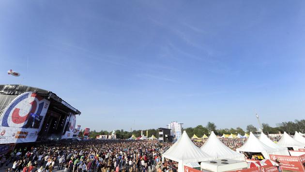 Wetter: Sonnige Prognose fürs Donauinselfest (Bild: APA/HERBERT P. OCZERET)