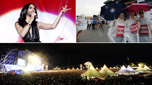3,1 Millionen Besucher am 31. Donauinselfest (Bild: APA/HERBERT P. OCZERET)