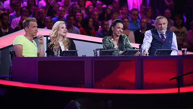 """""""Die große Chance"""" mit einer neuen Jury (Bild: ORF/Milenko Badzic)"""
