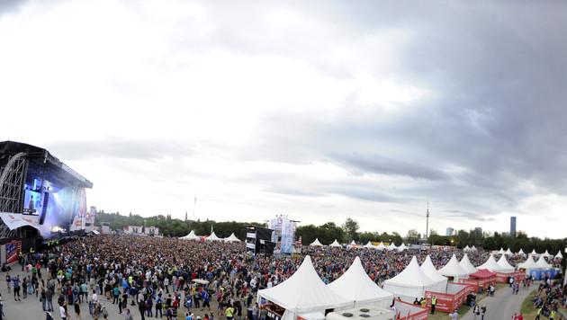 """Donauinselfest ein """"Fest des Friedens"""" (Bild: APA/HERBERT P. OCZERET)"""